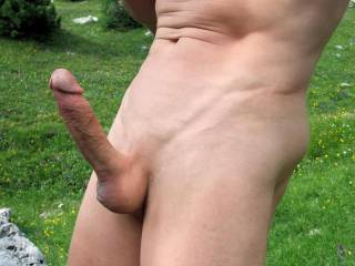 Outstanding cock!  I've never sucked a guys cock, but I'd suck that beautiful thing.