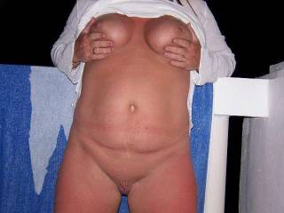 mmmm I LOVE your sexy tanned body, made even sexier with no tan lines.