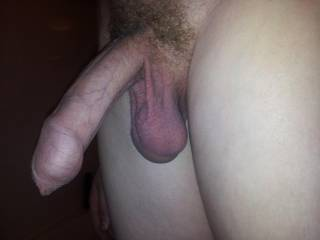 i would love to feel you slowly push that thick long cock into my pussy till them balls are pressed against my pussy lips