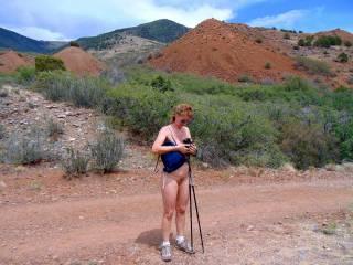 nude women on mountain trial