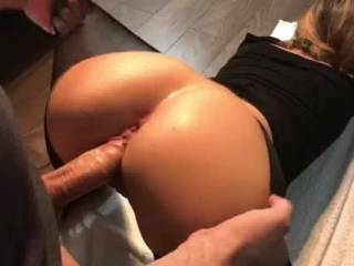Horny cheating housewife takes next door neighbor\'s big cock in both holes (Roleplay)