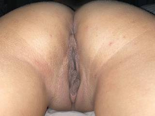 Who would love to eat my wife's pussy and ass while she's like this