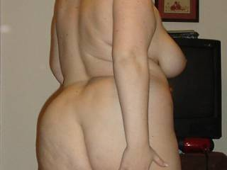my lovely tramp wife showing off her ass