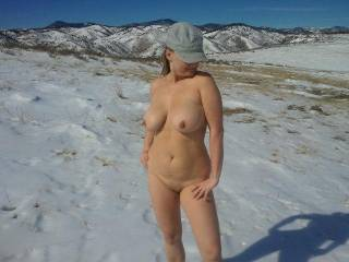 Fuck yeah I'd like to see her on my next hike!!!  I'd pitch a HUGE tent for her too ;-)