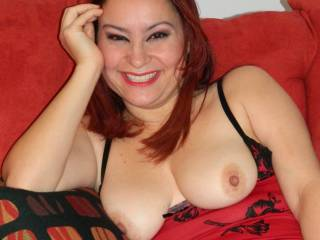 will you still flash that lovely smile at me with my cock between those beautiful breast