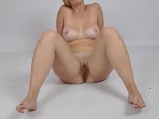 legs open :)