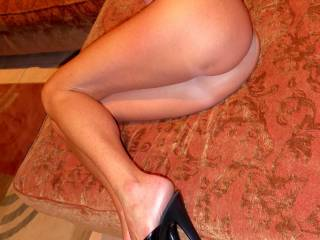 For the legs, feet, heels lovers....ass as well....LOL