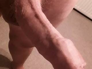 Having a nice wank, and took this close-up. Tell me what you would do with it??