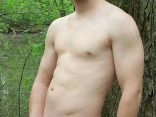 OMG, you are a VERY HANDSOME and SEXY GUY, dude, with a MAGNIFICENT BODY and DICK proudly displayed.  You look FANTASTIC in the NUDE and in the great outdoors too