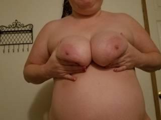 Wifes big ole titties