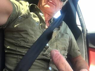 driving around town got me really horny!