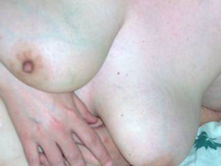 Would have to suck on those lovely hard nipples first