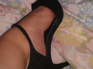 Hubby likes me to wear heels