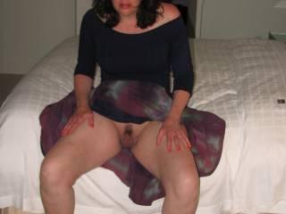 Her legs him wrap around