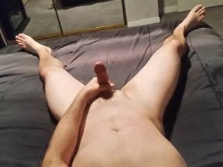 Not a big cock (never any complaints though) Who would like to ride?