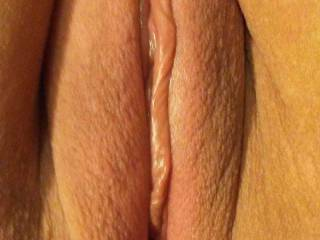 Just got done shaving my pussy. My husband loves sucking on my big juicy lips