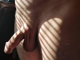 Feeling the warmth of the sun got me horny