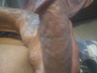 Starting to fill out my hands I wanna cum so bad any one want a bucket ofcum