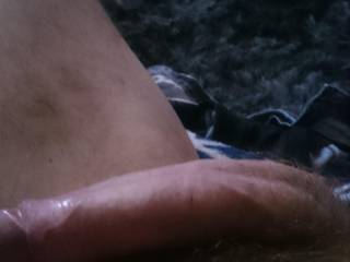 About to play with my cock