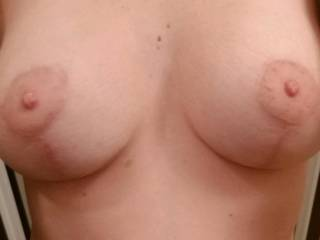 New boobs for the wife