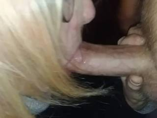 Wife\'s first day back to work...needs to relieve some tention