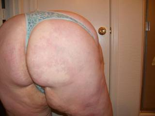 WOW! What a sweet ass!! Love to rub my hands and cock all over it!!!