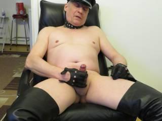 leather fetish guy