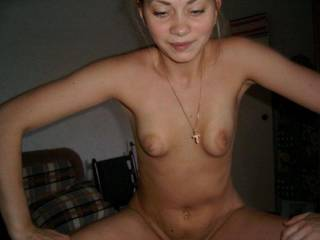 I think she is super sexy, so yes from me. Ofcourse, I would love to see how she takes a facial for my final decision.