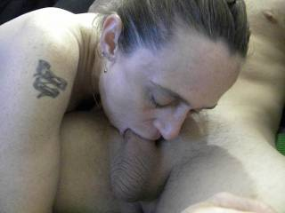 Love watching you suck cock...love to see you sucking 2 at once!