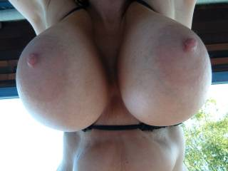 those are amazing tits on her....fantastic for some hot fun!