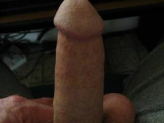 Only thing missing are my lips around it. Nice smooth cock ;)