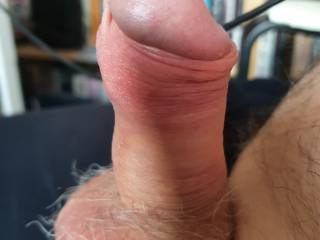 My cock getting hard