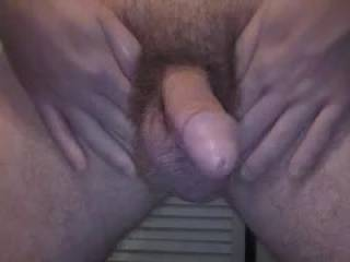 Nice video of a more than nice cock.  If I were there I would have choaked n your cum