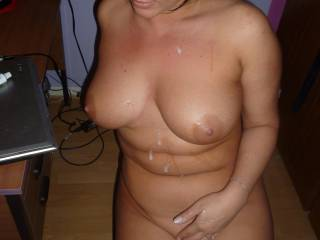 you now your like my perfect women you have perfect tittied and i love sucking on those nipples