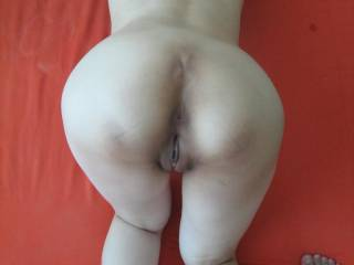 Beautiful little slut is in perfect position to get her pussy pumped and when my cock is dripping with her juice I'll spread open her tite asshole with my cock and pump my cum deep inside her.