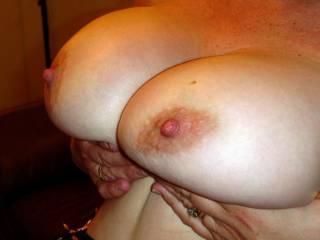 Yes I would. Love those big sweet tits.