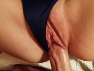 Awesome quickie! He didn\'t like pulling out but I needed him to.