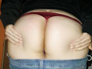 My big ass with a thong