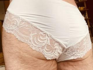 Wifes white panties