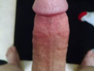 Need someone on there knees chocking on this fat cock