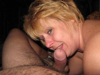Nice ! Wish I was sucking that cock with her !