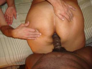 good job hubby.spread it open for her..so she could take it well k
