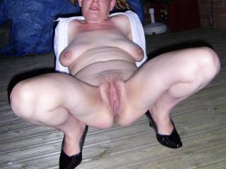 would I fuck her?  Fuck me.  Fuck me.  That is the nicest big wet fanny I have ever fucking seen.  I would love to get my face stuck right in there.  The cock is fucking standing on me here now.  Fuck me.  That is fucking nice.  Thank you.   Look at those sexy big tits too.  Fuck.  Fuck me.  I have to wank.   I would love to put a big load of spunk all over those sexy glasses.  Fuck me.  Sexy sexy sexy sexy sexy sexy girl.  Thank you so much.