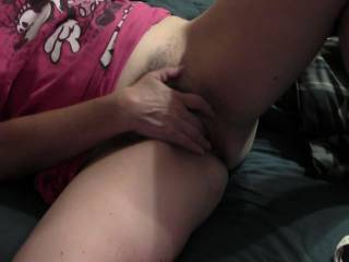 MMMM what a hot video, your pussy looks soooo wet, i want to bury my face in there.
