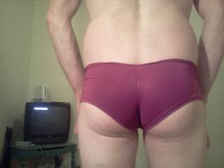 I get horny looking at my own ass what do you think