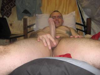 i love his cock, big, thick.. any man want to help me suck him off?