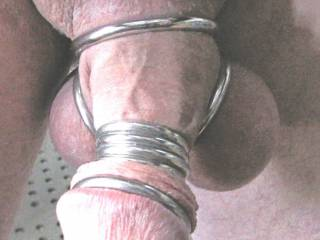 Would love to suck you off . start with your balls then just on the head till you pump your cum up thru those restriction rings.mmmmmm