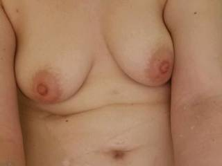 My girl has an amazing body. Her titties are just so perfect