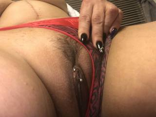 Who wants to taste my wife pussy while i stroke my cock??