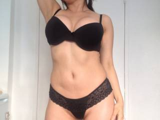 Old pic of my wife in lingerie